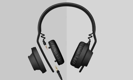 Modular Headphones - The AIAIAI TMA-2 Headphones Come With Swappable Components