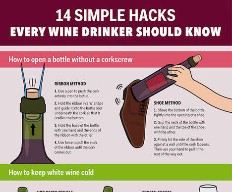 Wine Drinking Hacks - These Extremely Helpful Wine Tips are Here Just in Time for the Weekend