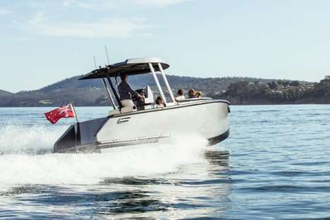 Versatile Limousine Yachts - The Van Diemen Sports Limousine Features Different Configurations