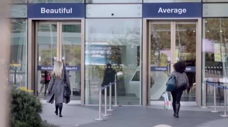 Beauty Gateway Experiments - Dove's 'Choose Beautiful' Has Women Choose Between Two Doors