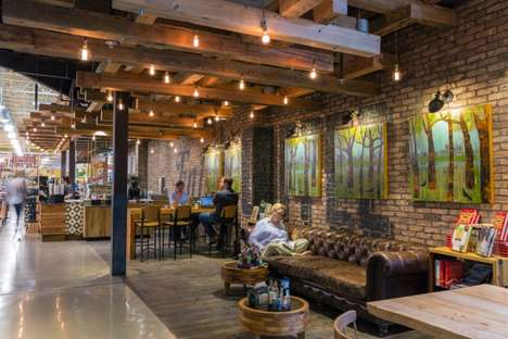 Rustic Steampunk Supermarkets - This Award-Winning Whole Foods Austin Location is Retail Playground