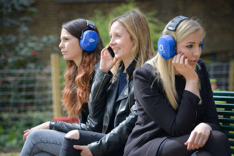 Spoiler-Blocking Headphones - O2's Headphones Help Tv Fans Avoid Spoilers from Favorite Shows