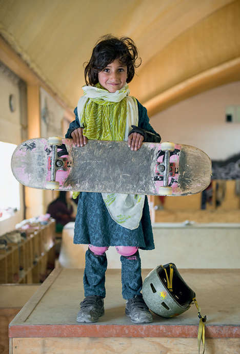 Altruistic Skateboarding Portraits - This Series Displays Beautiful Personalities and Spirit