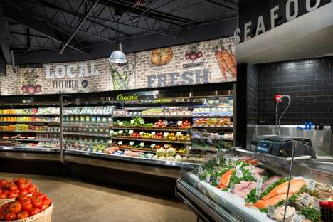 Small-Batch Supermarkets - This Grocery Store Boasts a Herb Wall and a Soda Fountain