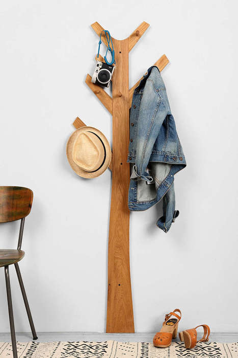 Arboreal Clothing Storage - Urban Outfitters' Tree Coat Rack Reduces Clutter in Small Spaces