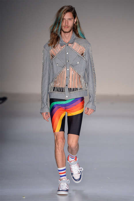 Tropical Punk Fashion - Amapô's Latest Collection Boasts Multicolored Menswear Looks