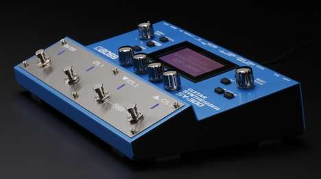 Electric Guitar Synthesizers - The Boss SY-300 Gives Guitarists and Bassists Access to Synth Sounds