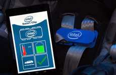 Parent-Alerting Child Seats - The Intel Smart Clip Replaces Traditional Buckles for Kid Protection
