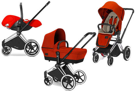 3-in-1 Baby Strollers - The Cybex Priam Transforms Based on Parents' Needs from Day to Day