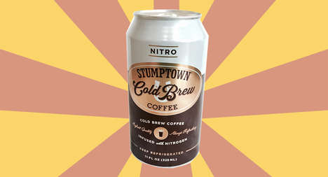 Nitro-Infused Cold Brews - The Nitro Cold Brew is Stumptown's Ode to National Cold Brew Day