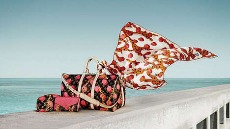 Luxe Tropical Accessories - The Latest Louis Vuitton Campaign Highlights Miami-Inspired Pieces