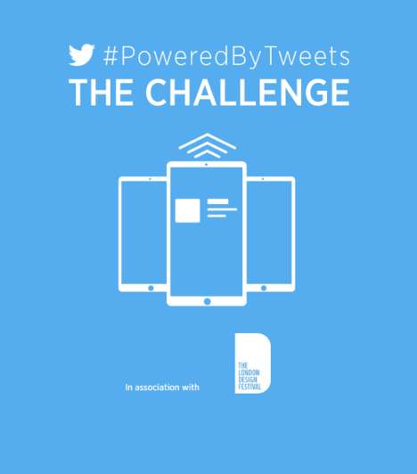 Social Design Competitions - Twitter UK's #PoweredByTweets Promotes Social Media and Design