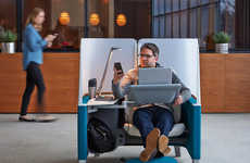 Private Office Solutions - Brody by Steelcase Creates Comfy Pods for Solitude and Productivity