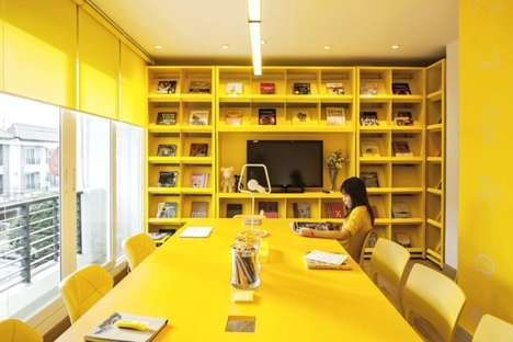 Color-Coded Workplaces - The New Apostrophy's Office is a Corporate Crash Course for New Hires