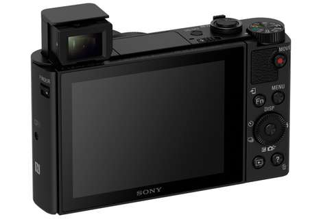 Compact Travel Cameras - The Sony HX90 Compact Camera Packs a Surprisingly Large Lens