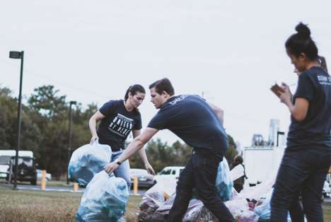 Branded City Cleanups - For Each Product United by Blue Sells, a Pound of Trash is Removed