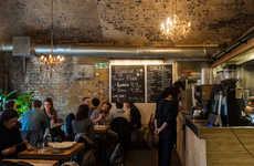 Hybrid Barbershop Cafes - Hurwundeki in London Serves Homemade Food and Affordable Haircuts