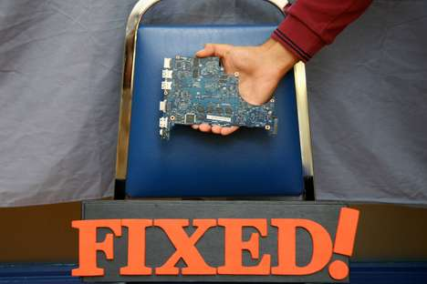 Crowdsourced Gadget Repairs - The Repair Cafe Network Encourages Community Interaction and Upcycling