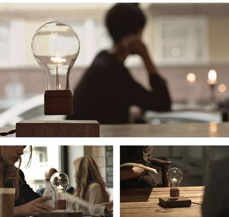 Levitating Lightbulbs - The Flyte Lightbulb is Powered by Air