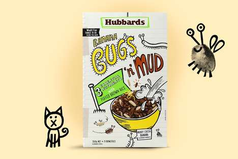 Silly Cereal Boxes - Hubbards' Cereal for Kids Uses Language That Appeals to Children