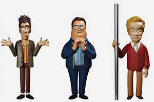 These Seinfeld Action Figures Perfectly Capture Kramer and Newman