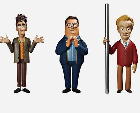 Iconic Sitcom Action Figures