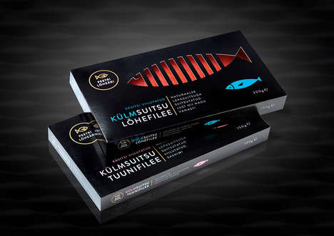 Dapper Seafood Packaging - This Fish Packaging Design Aims to Meld Tradition with Modernity
