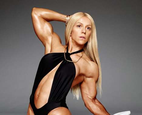 Sultry Body Builder Photography