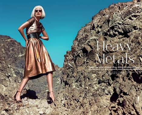 Desert Metallic Fashion
