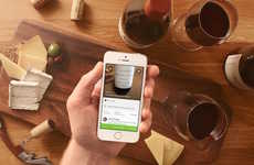 Streamlined Wine Apps - Wine Recognition App Delectable Helps You Become an Authority on Vino