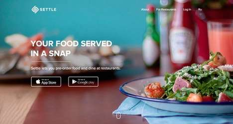 Restaurant Pre-Order Apps - The Settle Restaurant Payment App Lets You Pre-Order and Pre-Pay
