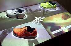 Digitized Shoe Displays - Perch Interactive's Retail Concept Gives One Access to Product Features