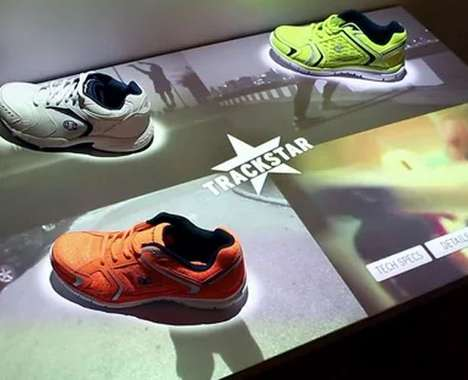 Digitized Shoe Displays