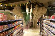 Children's Grocery Stores - This Kid's Supermarket in Moscow is Designed for Children