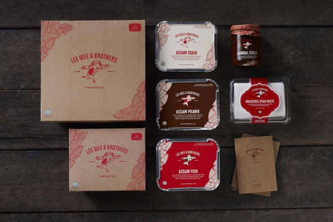 Rustic Takeout Packaging - This Takeout Packaging Design Channels the Brand's Traditional Values