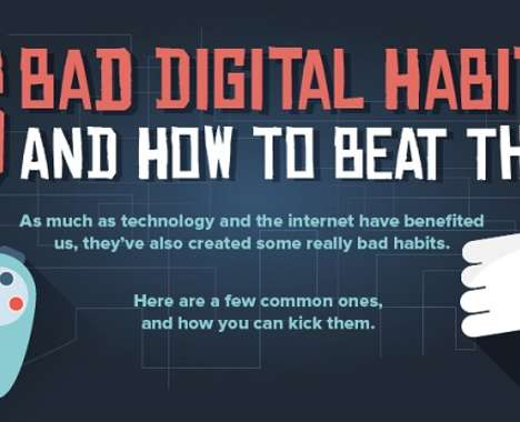 Bad Digital Habits Charts