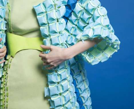 Architectural Origami Fashion