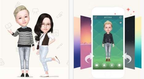 Virtual Doppelganger Apps - The My Idol App Lets Users Create a Digital Version of Themselves