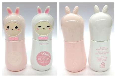 Cutesy Cosmetics Cases - This Tony Moly Packaging Takes on the Form of a Bunny
