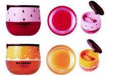 Dessert Lip Balm Branding - The Face Shop's Lip Balm Collection Boasts Graphic Containers