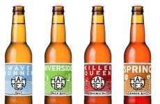 Industrial Beer Branding - This Italian Craft Beer Comes Boasts an Ultramodern Visual Identity