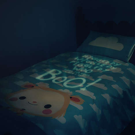 Glow-In-The-Dark Bedding - Glow Away Redefines Comfort with Illuminated Safety Blankets