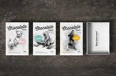 Feminist Candy Packaging - This Fruene Chocolate Box Branding Highlights Inspiring Women in History
