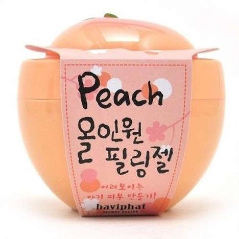 Fruity Cosmetics Packaging - This Peach Baviphat Peeling Gel Comes in a Fresh Jar