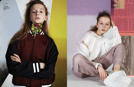 Fashion Collage Editorials - The Ones 2 Watch 'Grinding Youth' Image Series Boasts Edgy Styling