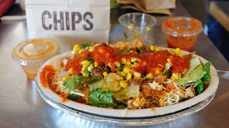 Burrito Delivery Services - A Postmates Partnership Means Chipotle Delivery is Now a Real Thing