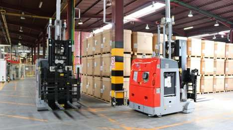 Ultra-Efficient Warehouse Robots - The Pan-Robots Project is Creating Improved Warehouse Robots