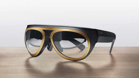 Augmented Auto Eyewear - The MINI Augmented Vision Improves Driving Capabilities