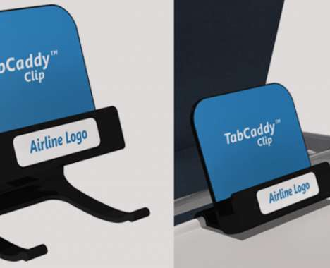 Airplane Tablet Clips
