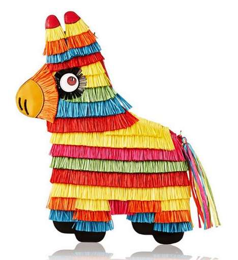 Mexican Pinata Purses - Charlotte Olympia's Pinata Bag Pays Homage to South American Traditions